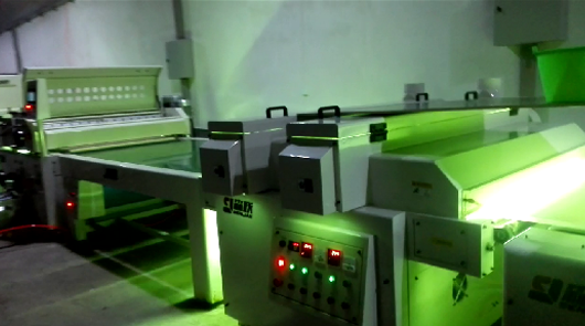 Automatic UV primer roller coating line of comp...