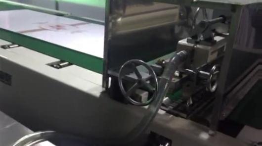 Automatic UV high glossy curtain coating line f...