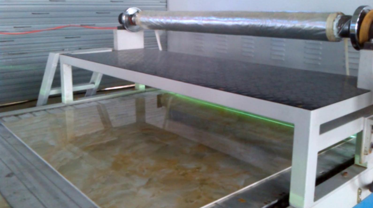Automatic UV transfer marble pattern coating li...