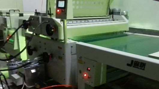 Automatic UV roller coating line for plywood