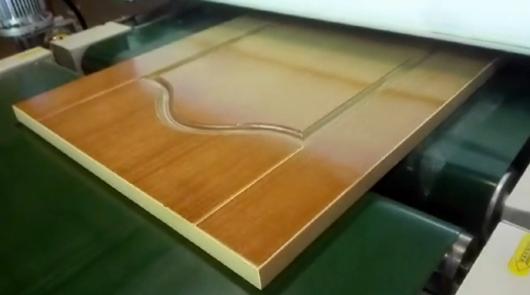 Automatic UV sealer roller coating line for pro...