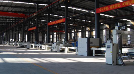 Automatic fluorocarbon paint coating line for c...