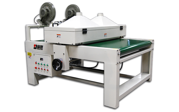 Board dust removing machine