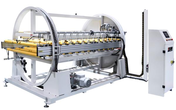 Board turn over machine