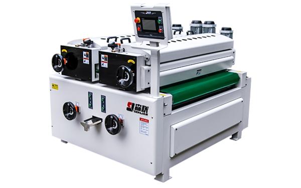 Double roller coating machine