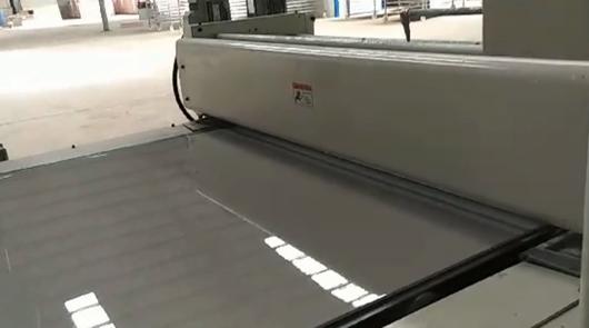 Fiber cement panel automatic fluorocarbon paint...