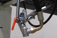 GRACO mixed air spray gun