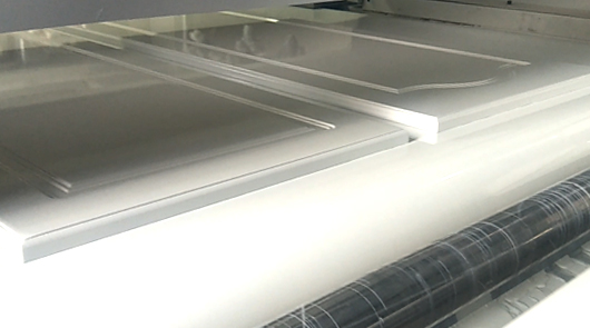 MDF cabinet automatic UV primer spray painting ...