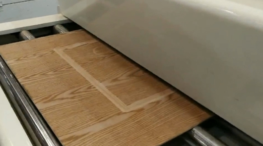 MDF door automatic electrical heating embossing...
