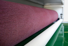 Non-woven cloth polish roller