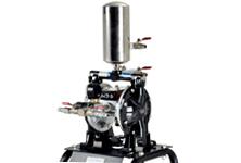 Paint vacuum diaphragm air pump