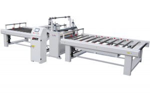 Protective film laminating line