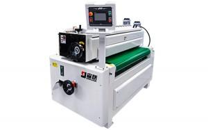 Single roller coating machine