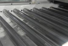 Stainless steel rollers conveyor