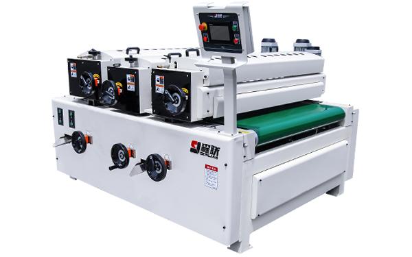Three roller coating machine