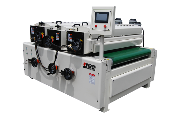 Three-roller coating machine
