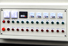 UV curing easy control panel