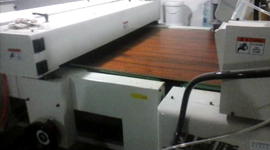 Automatic staining water based color lacqure fo...