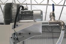 Whirlpool fan vaccum generator