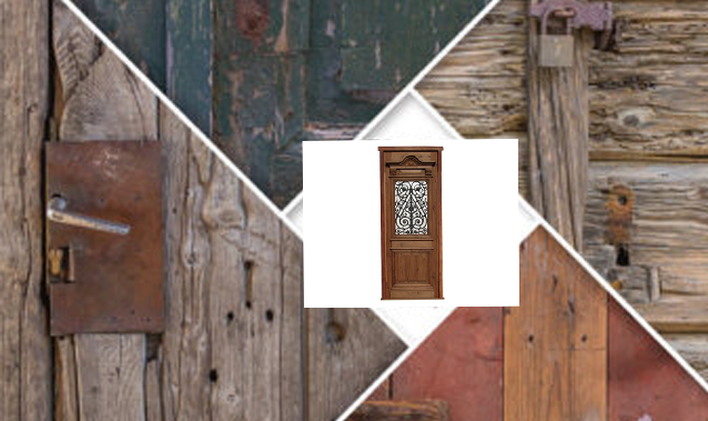 Brief introduction of antique wooden door painting process points