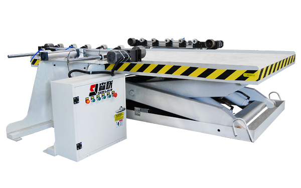 Automatic hydraulic lifting platform