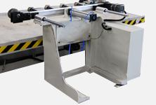 Side rollers conveyor