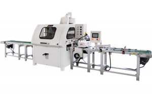 Automatic linear spraying machine